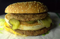 Sloppy Big Mac (Tony Worrall) Tags: add tag ©2019tonyworrall images photos photograff things uk england food foodie grub eat eaten taste tasty cook cooked iatethis foodporn foodpictures picturesoffood dish dishes menu plate plated made ingrediants nice flavour foodophile x yummy make tasted meal nutritional freshtaste foodstuff cuisine nourishment nutriments provisions ration refreshment store sustenance fare foodstuffs meals snacks bites chow cookery diet eatable fodder ilobsterit instagram forsale sell buy cost stock burger cheeseburger bun bread cheese mcdonalds bigmac