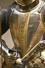 Armour Garniture (1580-5) (Bri_J) Tags: royalarmouries leeds westyorkshire uk museum militarymuseum yorkshire nikon d7500 armourgarniture armour metal pistol augsburg greenwich sirjohnsmythe