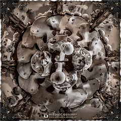 And now, above you, is Rint's most striking creation in the Bone Church - the magnificent chandelier. This impressive centerpiece is made from thousands of bones, and consists of at least one of every bone in the human body. (To be continued...) . 💀 (Sedlec Ossuary Project) Tags: sedlecossuaryproject sedlec ossuary project sedlecossuary kostnice kutnahora kutna hora prague czechrepublic czech republic czechia churchofbones church bones skeleton skulls humanbones human mementomori memento mori creepy travel macabre death dark historical architecture historicpreservation historic preservation landmark explore unusual mechanicalwhispers mechanical whispers instagram ifttt