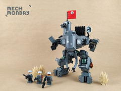 Mech Monday #6: WBT MKIX (Marin Stipkovic) Tags: lego moc myowncreation mech mecha drone robot monday custommodel