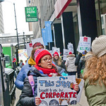 CICS Teachers and Staff Picket Outside the Offices of Charter School CEO Elizabeth Shaw Chicago 2-11-19 5895 thumbnail