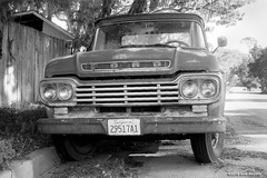 Ford F-100 (samreevesphoto) Tags: ford f100 canon f1 kentmere100 film is dead truck pickup