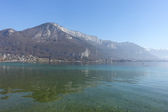 Mont Veyrier @ Lake Annecy @ Parc Charles Bosson @ Annecy (*_*) Tags: 2019 winter hiver february sunny europe france hautesavoie 74 savoie annecy lacdannecy lakeannecy parccharlesbosson lac lake park