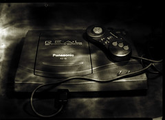 4real (O9k) Tags: analog analogue blackandwhite bw selfdeveloped homedeveloping film papernegative largeformat peco plaubel 13x18 cameraporn tabletop studio fuji fujinar fortepolywarmtone 3do console videogame videoconsole real controller