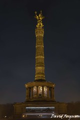 Victory Monument, Berlin (Daveoffshore) Tags: berlin germany victory monument night memorial
