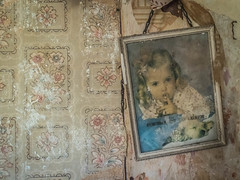 And God Created..... (Siobhán Bermingham) Tags: religion naturallight picture decay ireland old house deserted religious girl abandoned