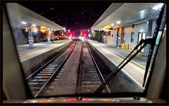 Waiting For The Off (R~P~M) Tags: train railway station oxford night chilternrailways oxon oxfordshire england uk unitedkingdom greatbritain
