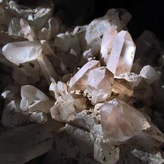 Crystalline (arbyreed) Tags: arbyreed rock crystal mineral quartz tangerinequartzcrystals crystalgroup close closeup