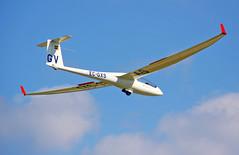Club de Vol a Vela d'Igualada-Odena. LEIG. (Josep Ollé) Tags: ecgxs velero glider monoplaza aterrizaje landing aeródromo airfield gv discus