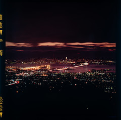 San Francisco from Grizzly Peak (Graham Gibson) Tags: hasselblad 503 cx 503cx 500 series 500cm 6x6 film medium format vintage color fujifilm fuji velvia 100 fujichrome rvp 100f 120 expired