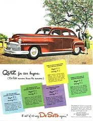1946 DeSoto Custom 4-Door Sedan (aldenjewell) Tags: 1946 desoto custom sedan 4door ad