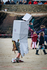 Robo Gull's Soggy Walk of Shame (BeerAndLoathing) Tags: 2018 december folkestone englandtrip england winter uktrip people canon kent sea beach winter2018 canoneos77d 77d events crowds trip boxingday seafront cold uk sigma18300mm