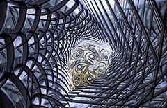 Into the Pit (beelzebub2011) Tags: canada britishcolumbia vancouver architecture icm multipleexposure composite