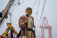 Giant (Tony Shertila) Tags: jeanluccourcoult liverpooldream liverpoolsdream newbrighton royaldeluxe england liverpool britain europe giants marionettes merseyside puppets wirral ©2018tonysherratt wallasey unitedkingdom 20181005120634liverpooldreamgiantsnewbrightonlr