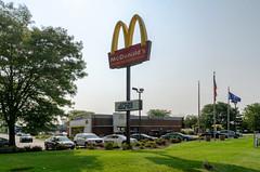 Carmel McDonald's (Bracus Triticum) Tags: carmel mcdonalds indianapolis インディアナポリス indiana インディアナ州 unitedstates usa アメリカ合衆国 アメリカ 8月 八月 葉月 hachigatsu hazuki leafmonth 2018 平成30年 summer august