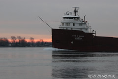 keb122018bowsr_rb (rburdick27) Tags: interlake interlakesteamshipcompany kayeebarker scenicmichigan sunrise stclairriver