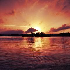 Sunrise over the Essequibo