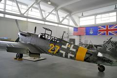 MESSERSCHMIDT  bf 109 G12 (rollyfan61) Tags: bf109 hanger10 heringsdorf messerschmitt usedom bf 109 hanger 10