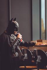 I'll save the world, but not today (David Olkarny Photography) Tags: badman davidolkarny brussels olkarny batman superheo