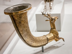 IMG_1616 (jaglazier) Tags: 123018 1stcenturybc 2018 animalshapedvesselsinart animalshapedvesselsfromtheancientworld animals cambridge cups december feastingwithgodsheroesandkings foggmuseum gettymuseum glass harvardartmuseum jpaulgettymuseum mammals massachusetts museums parthian persian rhyta rhyton rhytons silver specialexhibits usa archaeology art copyright2018jamesaglazier crafts deer figurines floral garnet gilded gilding gold inlaid inlayeyes metalworking repousse runningspirals sculpture silversmiths stags wreaths