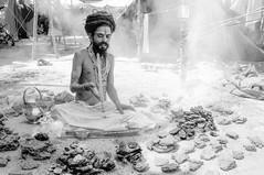 (kuuan) Tags: haridwar india kumbhmela portrait baba sadhu narendra yoga cowshit burning ceremony smoke tapasya firetapasya mahakumbhmela mahakumbhmelaharidwar2010 vaishnavacamp 2010 kumbhmela2010 vairagicamp