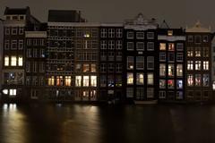 Damrak - Amsterdam (marcobenschop) Tags: amsterdam nikon d7100 1855mm night nacht dutch nederland the netherlands dark city stad damrak