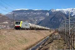 Ai tempi di Captrain (Damiano Piovanelli) Tags: captrain treno treni ferrovie ferrovia ferroviedellostato e483302 483 e483 brennero brenner