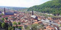 Stadt Heidelberg (seanavigatorsson) Tags: birdseyeview heidelberg city stadt