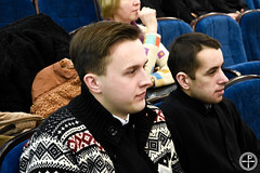 02.02.2019 - Братство в честь прп. Исаака Сирина г. Минска посетило Минскую духовную академию