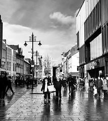 Northumberland Street Newcastle Upon Tyne. (LVNWtransFoto) Tags: people street blackwhite northumberlandstreet newcastle appleiphone7plus buildings architecture