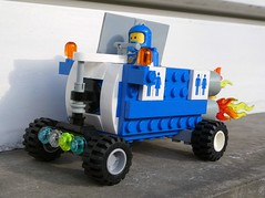 Eco Fueled Rover (captain_j03) Tags: toy spielzeug 365toyproject lego minifigure minifig moc febrovery space rover car auto