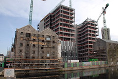 Boland's Mill (eigjb) Tags: grand canal dock bolands mills construction office development docklands ireland city crane building dublin ringsend google quay technology 1916 rising volunteers ira easter flour apartments retail outlets campus