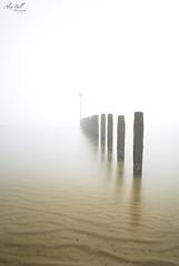 Misty Morning (Alex365pix) Tags: blyth mist moody groyne le 10stop nikon northumberland northeastcoast water weather benro beach