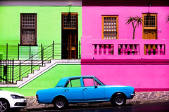 Bo-Kaap, CapeTown. (Imagin.air) Tags: southafrica color streetview car window capetown bokaap quartiermalais maison afriquedusud afrique africa