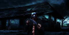 """"""" Ladies And Gentlemen...Let The Purge Begin ! """" (maka_kagesl) Tags: secondlife sl second life game gaming games videogame virtual portrait photography photo picture pose pic cosplay purge thepurge"""