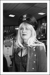 IMG_0190-6 Re-Edit (Scotchjohnnie) Tags: whitbysteampunkweekendfebuary2019 whitbysteampunkweekend steampunk portrait people female costume yorkshire northyorkshire blackwhite mono monochrome canon canoneos canon6d canonef24105mmf4lisusm scotchjohnnie