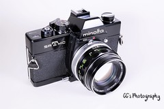 Minolta SR-T MC  - 1974 (http://www.yashicasailorboy.com) Tags: minolta srtmc 35mm slr film camera 1970s kmart jcpenny problack analog rokkorlens