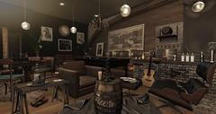 Gentlemans Club..... (kellytopaz) Tags: second liv virtual living skybox fameshed shades furniture event gentleman lounge club