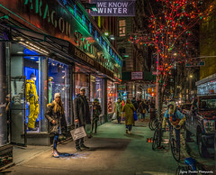 Winter Streets (Jeffrey Friedkin) Tags: jeffreyfriedkinphotography cityscene evening lights manhattan newyork nyc newyorkscene streetscene y