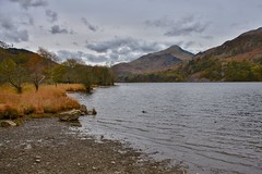 Snowdonia (Nige H (Thanks for 15m views)) Tags: nature lake landscape mountain wales northwales snowdonia llyngwynant autumn