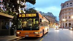 AMT 8674 (Lu_Pi) Tags: amt genova autobus bus bususato atmmilano iveco iveco491 cityclass cityclasscursor amtgenovalinea34 principe cimiterostaglieno
