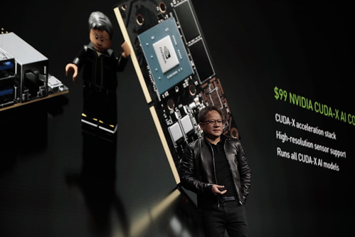 NVIDIA CEO Jensen Huang announces the Jetson Nano