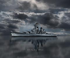 *USS New Jersey BB-62 rs-2555 (P.E.T. shots) Tags: ussnewjersey usnavy battleship war ship navy wwii koreanwar vietnam decorated naval