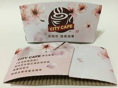 CITY CAFE 在城市 探索城事 cherry blossom (Majiscup Paper Cup Museum 紙コップ淡々記録) Tags: 宏宇店 hongyu store taoyuan 7eleven sleeve city cafe 在城市 探索城事 cherry blossom