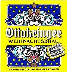 Austria - Harmer KG (Vienna) (cigpack.at) Tags: austria österreich harmerkg vienna wien ottakringer weihnachtsbräu bier beer brauerei brewery label etikett bierflasche bieretikett flaschenetikett