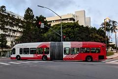 MTS Bus (So Cal Metro) Tags: bus metro transit mts sandiegotransit sandiego artic articulated articulatedbus nabi 60brt 1000 rt150 bus1013 ucsd va vahospital universitycity