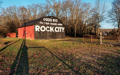 Good Bye. (Mr. Pick) Tags: rock city barn advertisement goodbye i24i24 tellyourfriendsabout