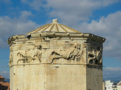 Tower of the winds (1 of 3) (jimsawthat) Tags: ancient stone romanforum towerofthewinds ruins urban athens greece