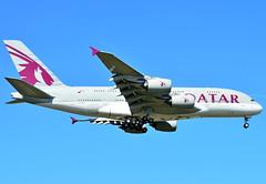A7-APE Qatar Airways Airbus A380-800 (czerwonyr) Tags: a7ape qatar airways airbus a380800