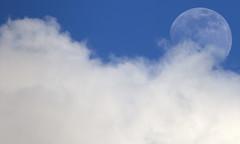 Moon 18 03 2019 (Phil*ippe) Tags: moon sky blue cloud